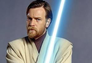 Ewan McGregor vive Obi-Wan Kenobi na trilogia dos anos 2000. Foto: Divulgação