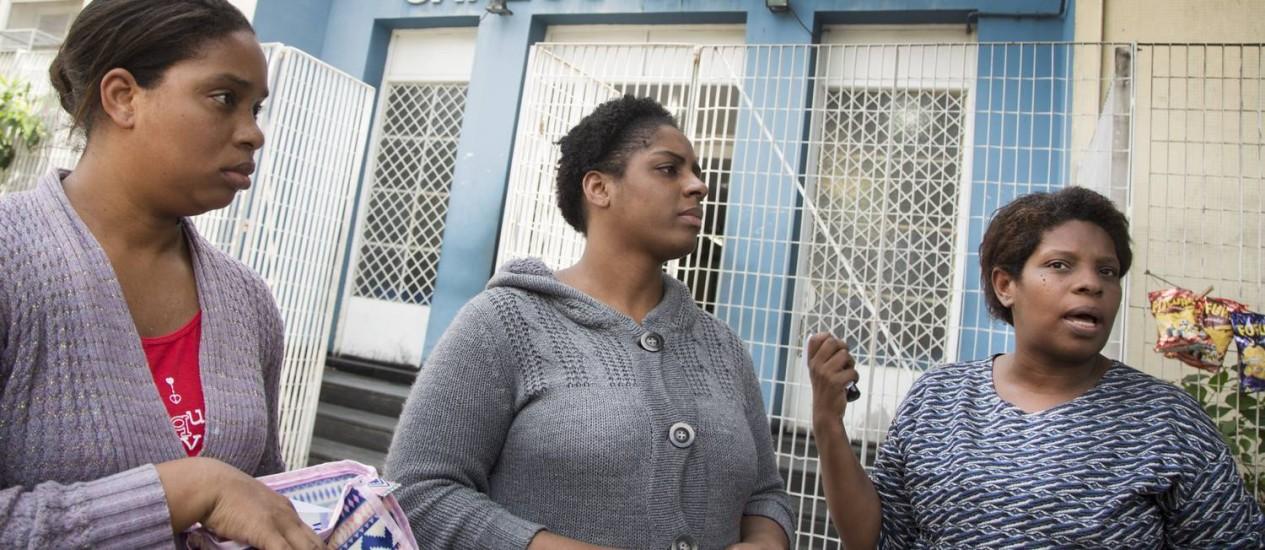 Mães de crianças internadas na UTI pediátrica dizem que filhos não têm condições Foto: Antonio Scorza