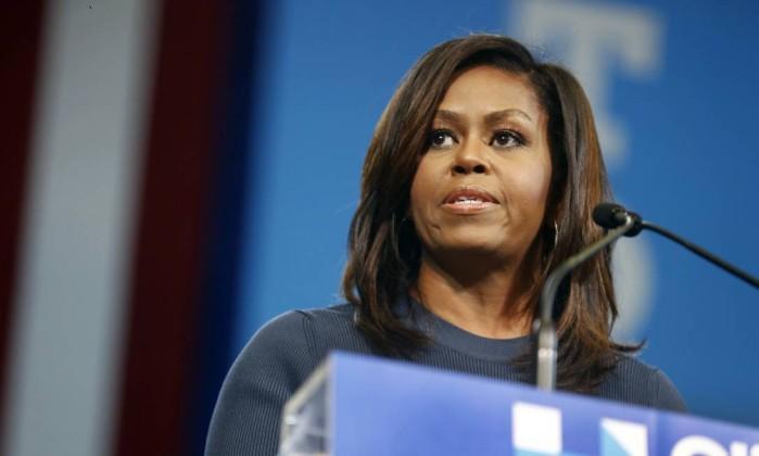 Responsáveis norte-americanas chamam Michelle Obama de