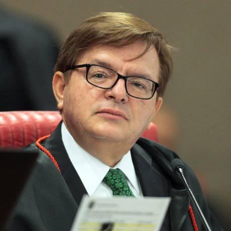 O ministro Herman Benjamin, durante sessão plenária do TSE Foto: Nelson Jr./ASICS/TSE