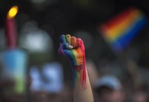 Repressão a homossexuais na Indonésia é recorrente Foto: DAVID MCNEW / AFP