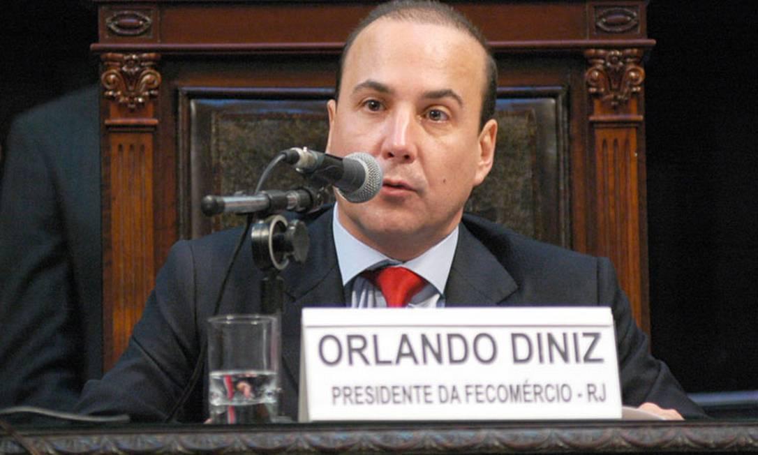 Orlando Diniz, presidente da Fecomércio Foto: Divulgação