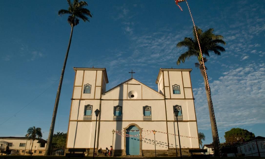 d9cd25a0f0 A Igreja Nossa Senhora do Rosário foi erguida entre os anos de 1728 e 1732  por