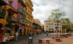 Cartagena, na Colômbia Foto: Divulgação/Colombia Travel