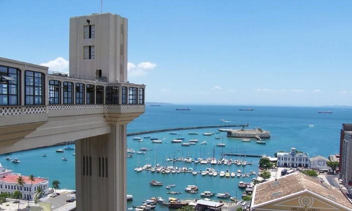 Salvador, na Bahia Foto: Secretaria de Turismo da Bahia