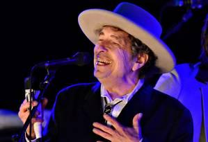 Bob Dylan em show de 2012 Foto: KI PRICE / REUTERS