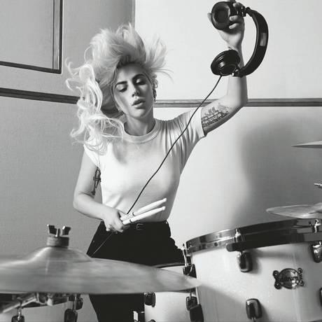 A cantora Lady Gaga Foto: Divulgação