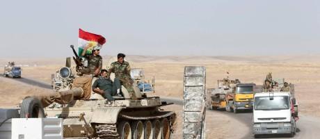 |Combatentes curdos Peshmerga se preparam para ofensiva em Mossul Foto: AZAD LASHKARI / REUTERS