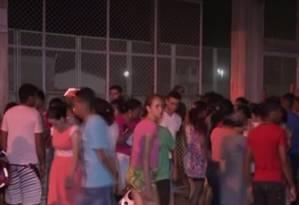 Um confronto entre facções na Penitenciária Agrícola de Monte Cristo, em Boa Vista (RR), terminou com com 25 detentos mortos Foto: Reprodução TV Globo