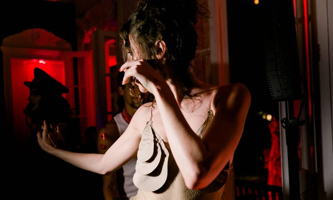 Anna Cleveland: a mais animada da noite Bruno Ryfer/ Divulgação