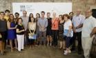 Marcelo Freixo (PSOL) em encontro com arquitetos no IAB Foto: Pablo Jacob