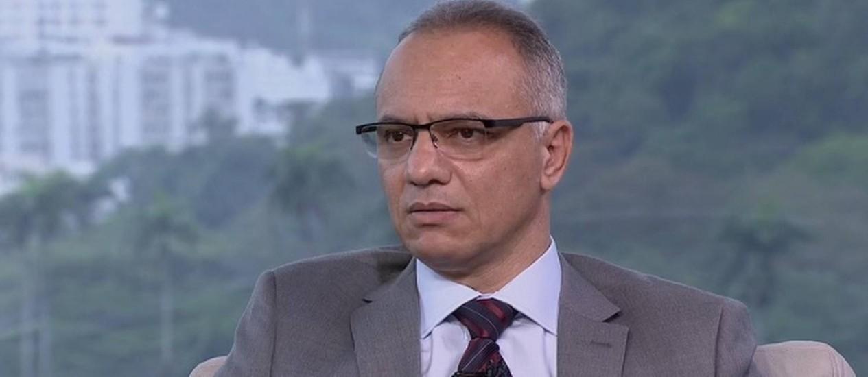 Roberto Sá: 'Nós não vamos reduzir UPPs' Foto: Reprodução / TV Globo