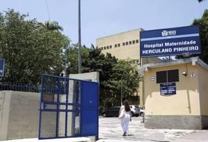 Hospital maternidade Herculano Pinheiro, em Madureira Foto: Agência O Globo