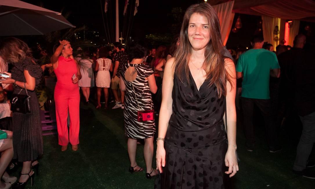 A estilista Juliana Affonso Ferreira, da Isolda Reginaldo Teixeira e Cézar França