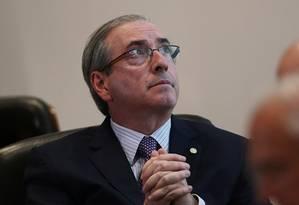 O deputado cassado Eduardo Cunha Foto: Jorge Willian/ Arquivo O Globo