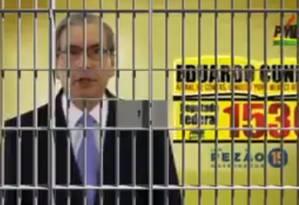 Nas redes sociais, prisão de Cunha não demorou a ser alvo de piadas Foto: Reprodução