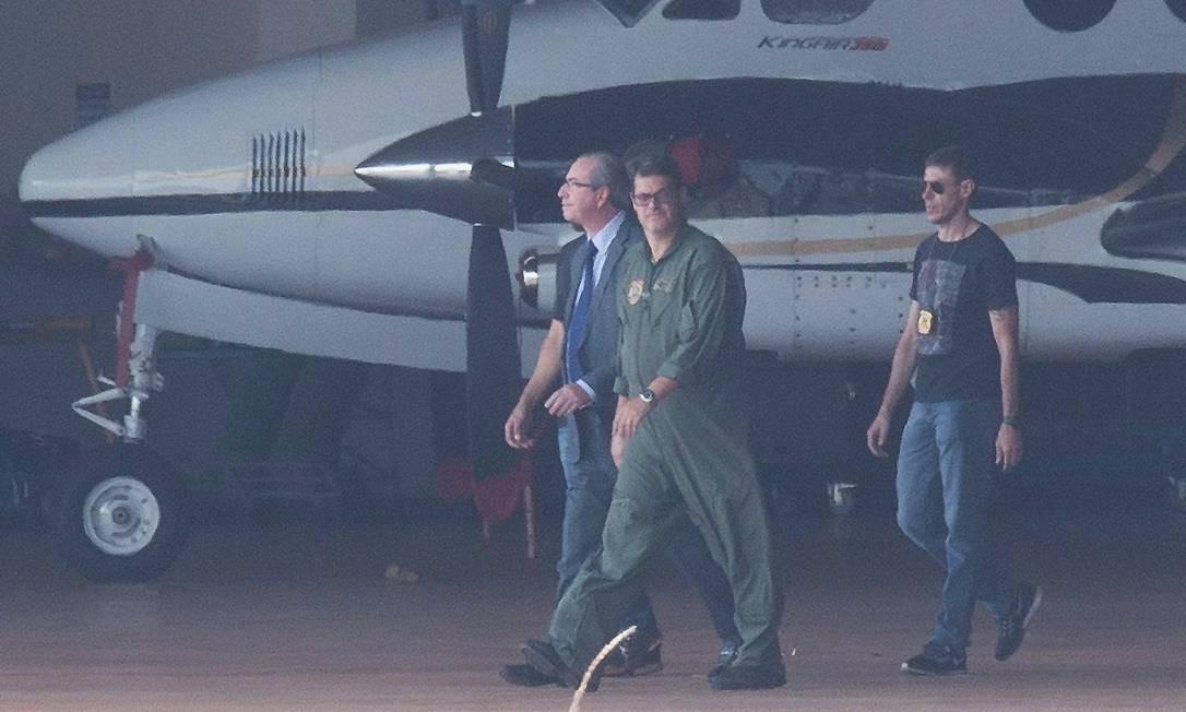 O ex-deputado não teve nenhuma reação à prisão. Foto: ANDRE COELHO / André Coelho / Agência O Globo