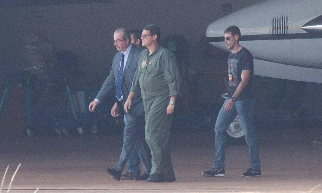 Ao pedir a prisão de Eduardo Cunha, o MPF não apresentou novos elementos de prova contra o ex-deputado, além do que já foi tornado público em investigações anteriores. Foto: André Coelho / André Coelho / Agência O Globo