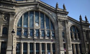 Gare du Nord. Estação ganha em novembro brasserie do chef Thierry Marx Foto: STEPHANE DE SAKUTIN/AFP