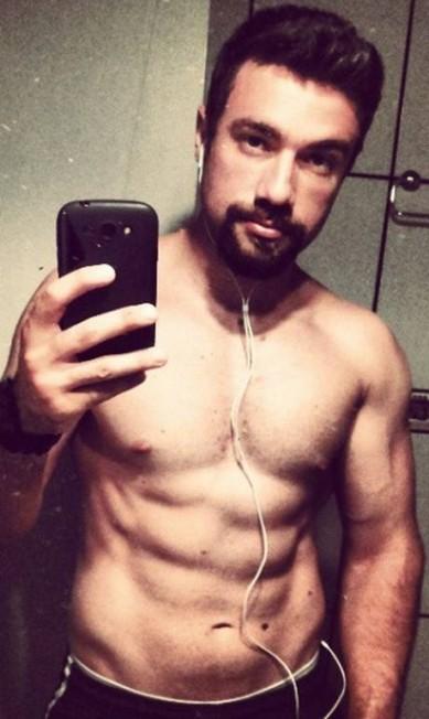Mais de Lucas Valença, o policial hipster que escoltou Cunha Reprodução/ instagram
