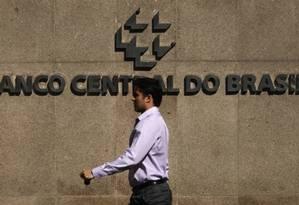Sede do Banco Central Foto: Bloomberg