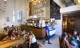 Há um ano, o IED, na Urca, abriga uma embaixada informal da pizza napolitana: a Caffetteria e Pizzaria del Cassino Foto: Leo Martins / Agência O Globo