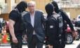 Ex-presidente da Câmara Eduardo Cunha chega ao Insituto Médico Legal de Curitiba