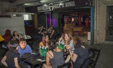 >Rock and beer.>Point roqueiro da Zona Norte, o Buffalos Bar conta com uma programação diversificad Foto: fotos de analice paron