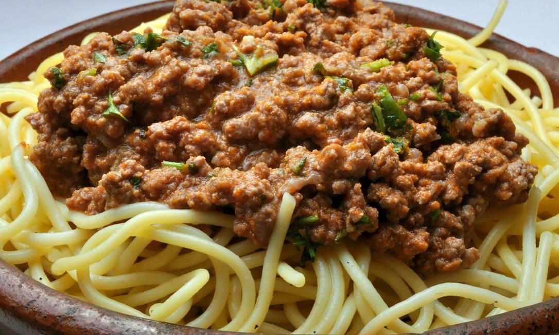 Adega do Cesare. Tradicional restaurante de Copacabana oferece o espaguete à bolonhesa (R$ 29) Maria Mattos / Divulgação
