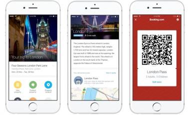 Reprodução da nova ferramenta do aplicativo do Booking.com Foto: Divulgação