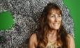 Exposicao Semente. A artista plástica Myriam Glatt Foto: Agência O Globo / Fernando Lemos