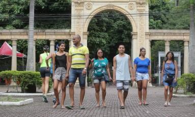 Vencedora da licitação fechou o parque pelo prazo de 40 dias para obras emergenciais Foto: Guilherme Pinto / Agência O Globo
