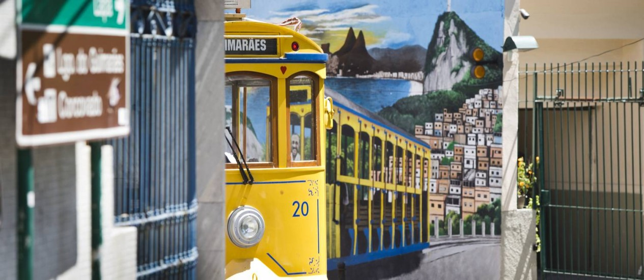 Bonde de Santa Teresa: horário de funcionamento ampliado Foto: Ana Branco em 28/12/2015 / Agência O Globo