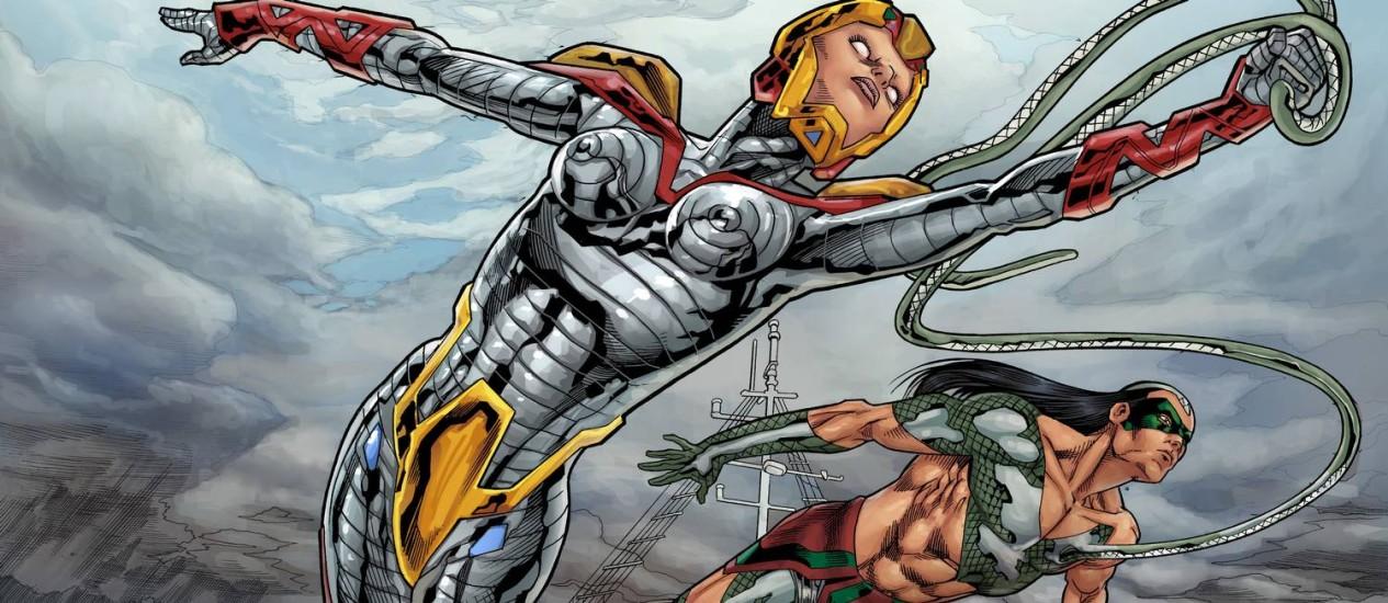 Resultado de imagem para Quadrinistas apostam em elementos nacionais para emplacar super-heróis brasileiros