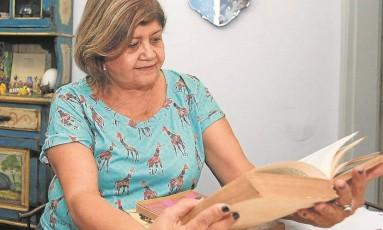 Dura jornada. A professora aposentada Maria da Conceição, que chegava às 7h à escola e trabalhava até as 22h Foto: Domingos Peixoto