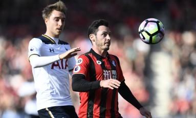 Tottenham e Bournemouth empataram sem gols pelo Campeonato Inglês Foto: Dylan Martinez / REUTERS