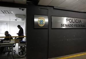 Polícia Legislativa do Senado Federal Foto: Arquivo / 21/10/2016 / Givaldo Barbosa / Agência O Globo
