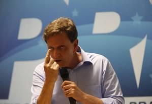 O candidato à Prefeitura do Rio Marcelo Crivella Foto: Domingos Peixoto / Agência O Globo