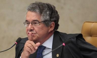 O ministro Marco Aurélio de Mello Foto: André Coelho / Agência O Globo