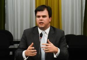 O ministro de Minas e Energia, Fernando Coelho Filho Foto: André Coelho / Domingos Tadeu/Agência Brasil/13-6-2016
