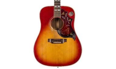 Violão de Janis Joplin será leiloado Foto: Divulgação/Heritage Auctions