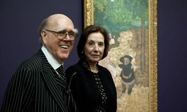 Marlene e Spencer Hays doaram cerca de 600 obras ao Museu d'Orsay Foto: Nicolas Krief / Divulgação Musée d'Orsay
