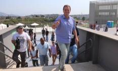 O prefeito Eduardo Paes durante a inauguração do Parque Radical de Deodoro, entregue à população após o fim da Olimpíada Foto: Arquivo / 07/09/2016 / Fabiano Rocha / Agência O Globo