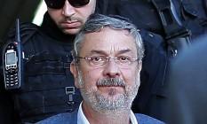 O ex-ministro Antonio Palocci: indiciado por corrupção passiva na Lava-Jato Foto: Heuler Andrey / AFP / Arquivo / 26/09/2016