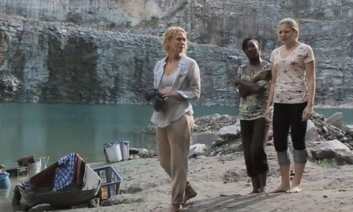 A pedreira retratada na série Foto: AMC/Reprodução