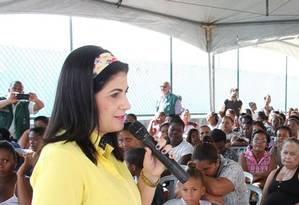 A prefeita de Campos, Rosinha Garotinho Foto: Divulgação