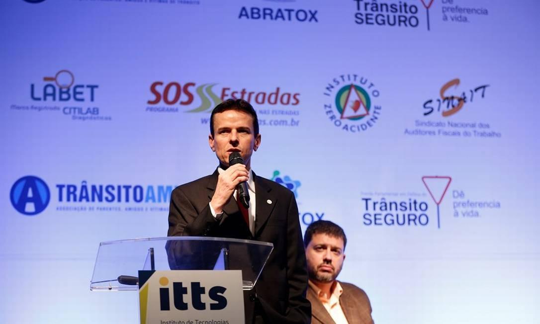 Francisco Garonce, coordenador de Educação para o Trânsito do Departamento Nacional de trânsito (Denatran) Foto: Marcelo de Jesus