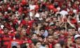 Quase 60% da receita do clássico de domingo foram para os cofres do Flamengo Foto: Marcelo Carnaval/23-10-2016