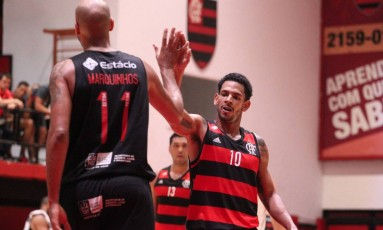 Flamengo derrotou o Vasco em jogo realizado sem torcida na Gávea Foto: Divulgação Flamengo