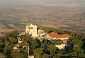 Basílica foi construída no local onde Jesus Cristo se transfigurou, segundo a tradição cristã Foto: WIKIPEDIA